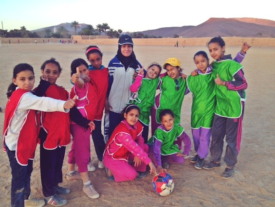 GRS Girls camp, Morroco