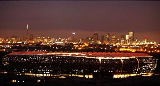 Johannesburg and Soccer City Stadium