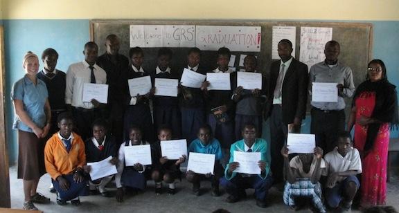Peace Corps Skillz graduation