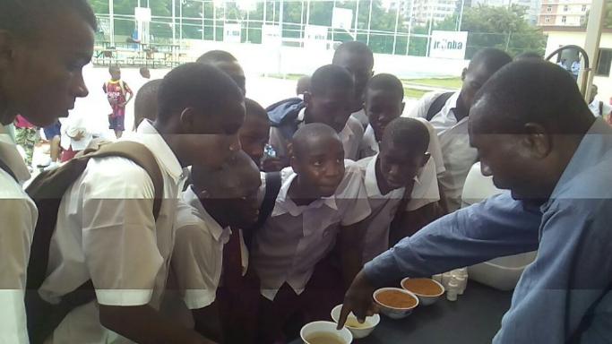 Malaria education event