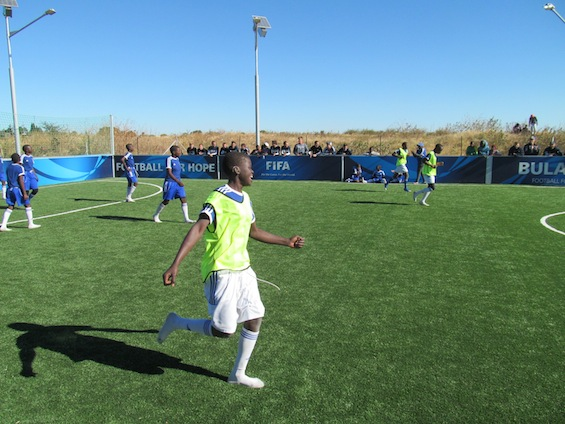 Soccer at the FFHC Bulawayo