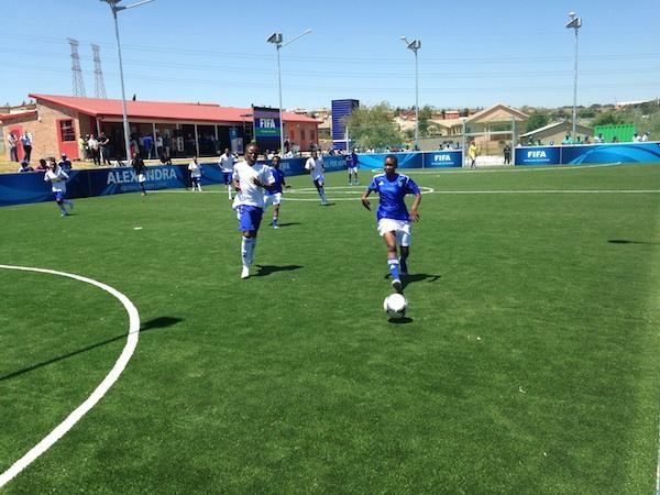 Alexandra FFHC soccer match