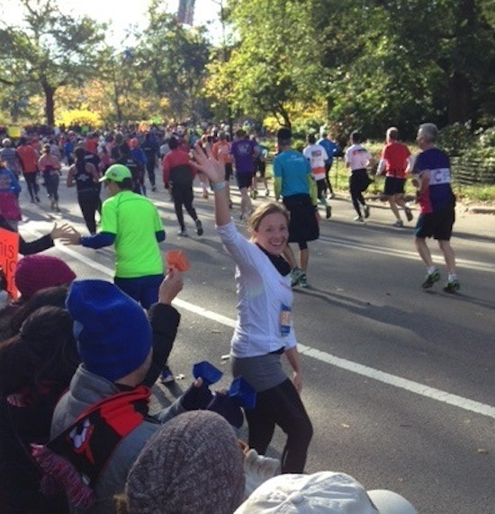 Sarah Moran NYC marathon