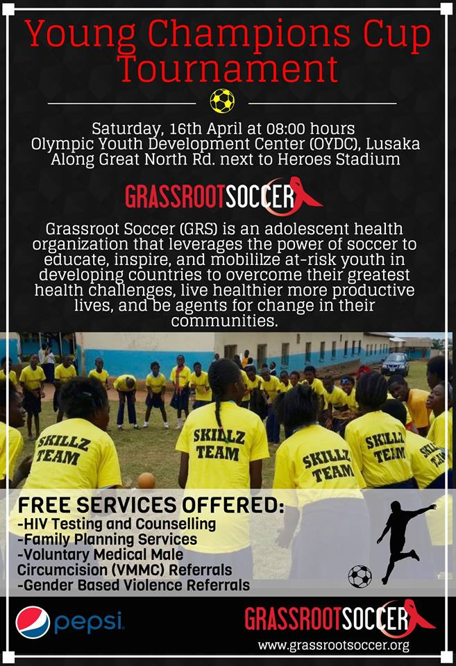Young Champions Cup flyer