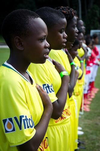 Zimbabwe girls team