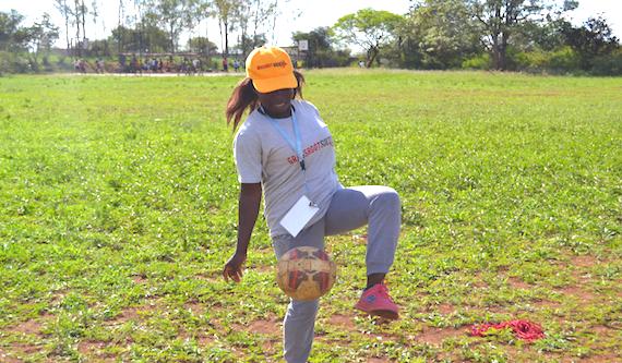 Coach Anita Ndlovu