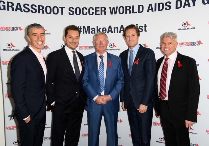 Tommy Clark, Seb Bishop, Sir Alex Ferguson CBE, Gregg Lemkau, Dave Cormack