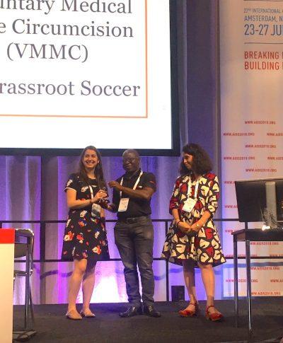 Demand Creation Award Presentation AIDS 2018