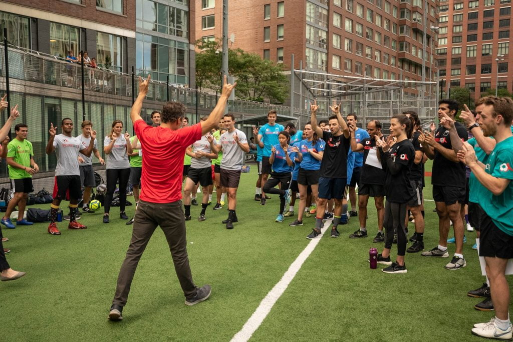 Watch: Goldman Sachs Equalizer Cup Delivers Support for